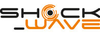 Shock-wave logo