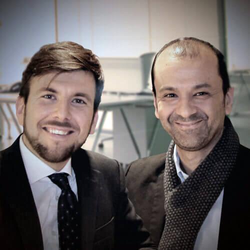 Federico Spada e Gianni Santolla